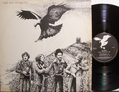 Traffic - When The Eagle Flies - Vinyl LP Record - Rock
