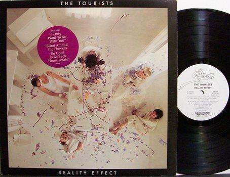 Tourists, The - Reality Effect - Vinyl LP Record - White Label Promo - Rock