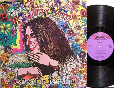 Tiny Tim - Concert In Fairyland - Vinyl LP Record - Rock