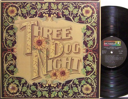 Three Dog Night - Seven Separate Fools - Vinyl LP Record + Inserts - Rock