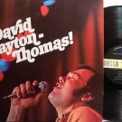 Thomas, David Clayton - Self Titled - Blood Sweat & Tears - Vinyl LP Record - Rock