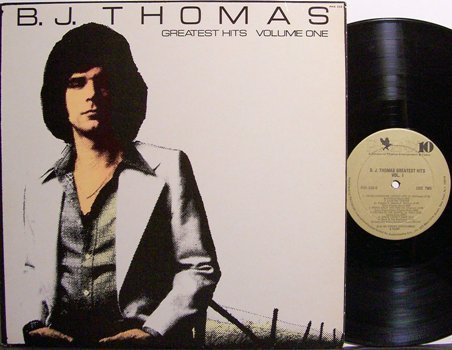Thomas, B.J. - Greatest Hits Volume One - Vinyl LP Record - Rock