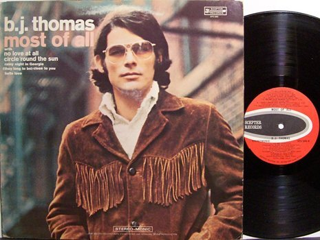 Thomas, B.J. - Most Of All - Vinyl LP Record - Rock