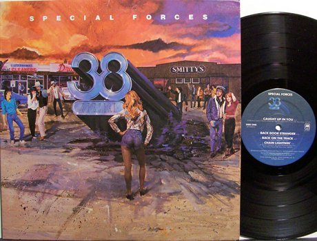 38 Special - Special Forces - Vinyl LP Record - Southern Rock