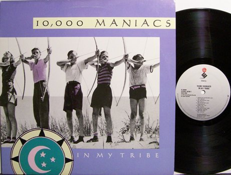 10,000 Maniacs - In My Tribe - Vinyl LP Record - Rock