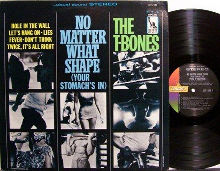 T Bones, The - No Matter What Shape Your Stomach's In - Vinyl LP Record - T-Bones - Rock