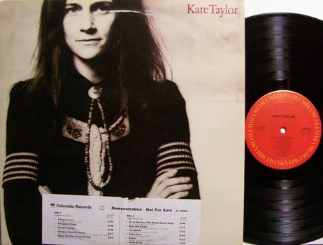 Taylor, Kate - Self Titled - Vinyl LP Record - Rock