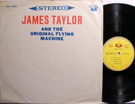 Taylor, James - And The Original Flying Machine - Korean Pressing - Vinyl LP Record - Rock