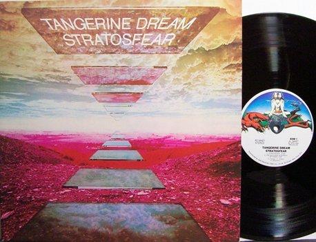 Tangerine Dream - Stratosfear - Vinyl LP Record - Rock