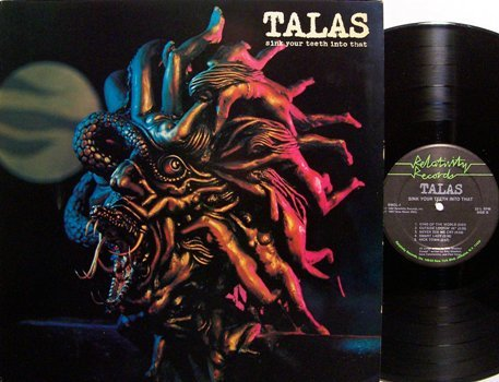 Talas - Sink Your Teeth Into That - Vinyl LP Record - Billy Sheehan - Rock