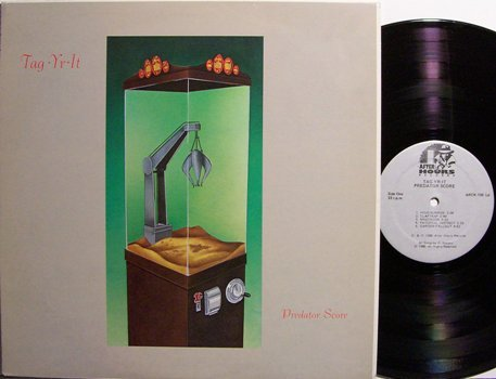 Tag Yr It - Predator Score - Vinyl LP Record - Rock
