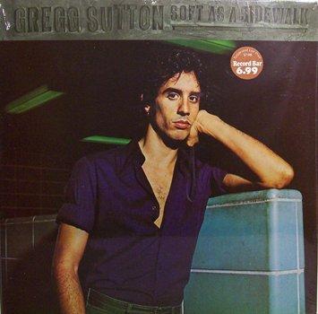 Sutton, Gregg - Soft As A Sidewalk - Sealed Vinyl LP Record - Rock