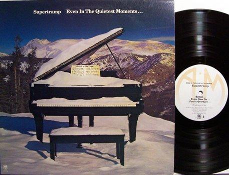 Supertramp - Even In The Quietest Moments - Vinyl LP Record - Rock