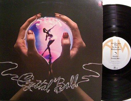 Styx - Crystal Ball - Vinyl LP Record - Rock