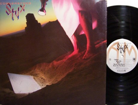Styx - Cornerstone - Vinyl LP Record - Rock