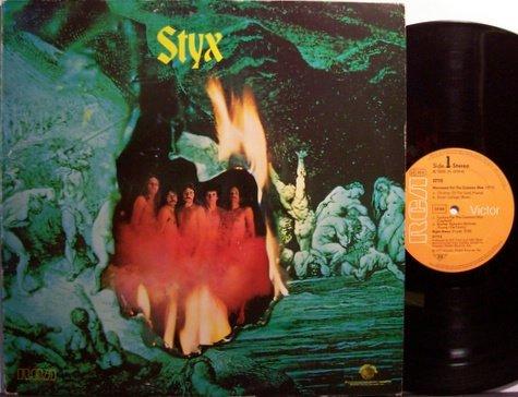 Styx - Self Titled - German Pressing - Vinyl LP Record - Rock