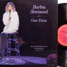 Streisand, Barbra - One Voice (Live In 1986) - Vinyl LP Record - Pop