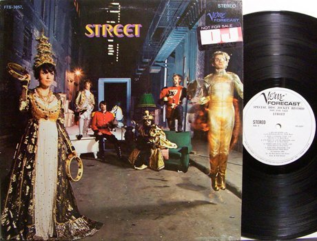 Street - Self Titled - White Label Promo - Vinyl LP Record - Rock