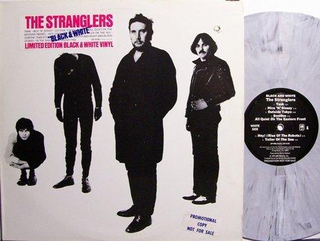 Stranglers, The - Black & White - Marble Swirl Colored Vinyl - LP Record - Rock
