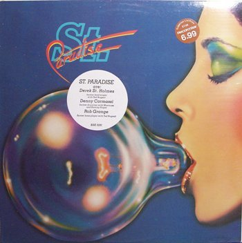 St. Paradise - Self Titled - Sealed Vinyl LP Record - Rock