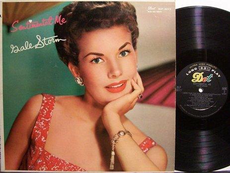 Storm, Gale - Sentimental Me - Vinyl LP Record - Pop