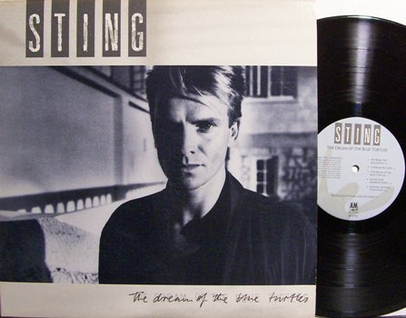 Sting - The Dream Of The Blue Turtles - Vinyl LP Record - The Police - Rock