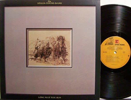 Stills Young Band, The - Long May You Run - Vinyl LP Record - Neil Young / Stephen Stills - Rock