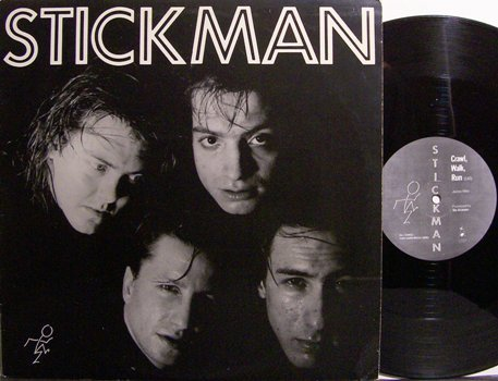 "Stickman - Crawl Walk Run / She Goes Round - Vinyl 12"" Single Record - Minneapolis Rock"