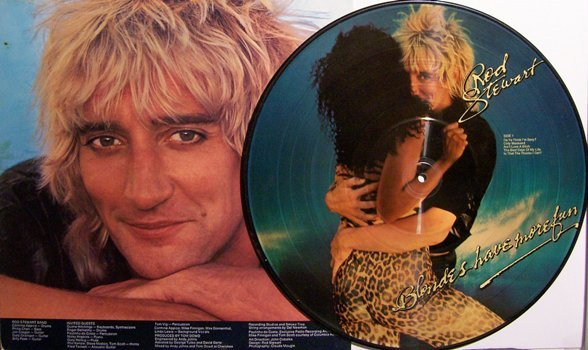 Stewart, Rod - Picture Disc - Blondes Have More Fun - Vinyl LP Record - Rock