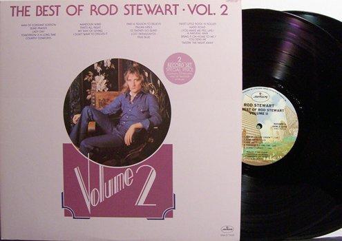 Stewart, Rod - The Best Of Rod Stewart Vol. 2 - Vinyl 2 LP Record Set - Rock