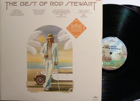 Stewart, Rod - The Best Of Rod Stewart - Vinyl 2 LP Record Set - Rock