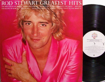 Stewart, Rod - Greatest Hits - Vinyl LP Record - Rock