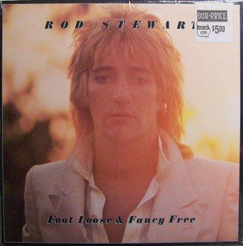 Stewart, Rod - Foot Loose & Fancy Free - Sealed Vinyl LP Record - Rock