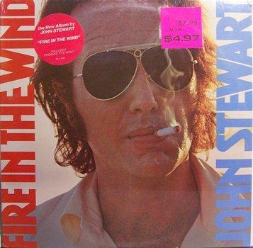 Stewart, John - Fire In The Wind - Sealed Vinyl LP Record - Rock
