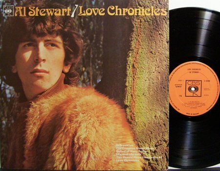 Stewart, Al - Love Chronicles - UK Pressing - Vinyl LP Record - Jimmy Page - Rock