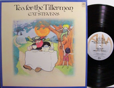 Stevens, Cat - Tea For The Tillerman - Vinyl LP Record - Rock