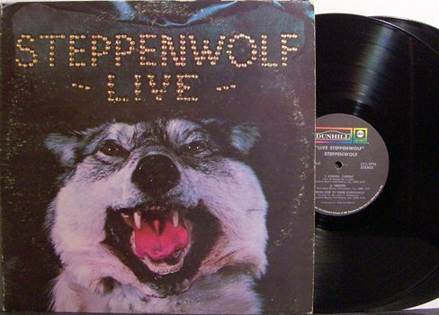 Steppenwolf - Live - Vinyl 2 LP Record Set - Rock