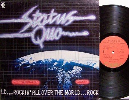 Status Quo - Rockin' All Over The World - Vinyl LP Record - Rock