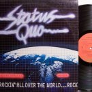Status Quo - Rockin' All Over The World - Vinyl LP Record - Rock