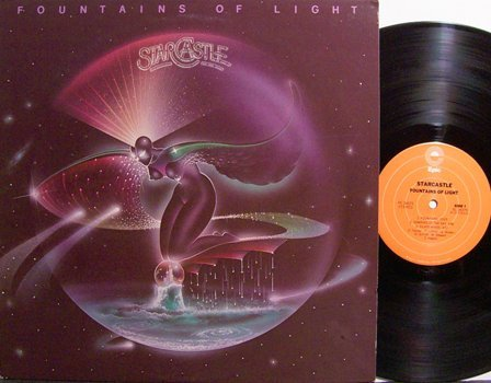 Starcastle - Fountains Of Light - Vinyl LP Record - Rock