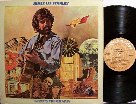 Stanley, James Lee - Three's The Charm - Vinyl LP Record - Folk Rock