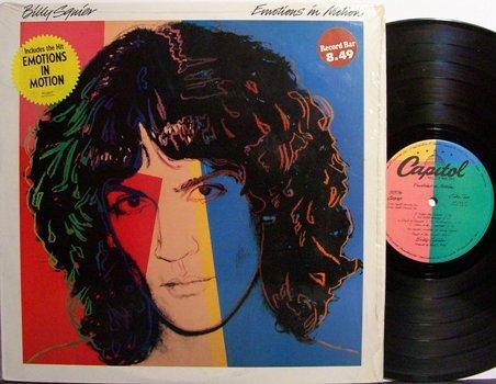 Squier, Billy - Emotions In Motion - Vinyl LP Record - Rock