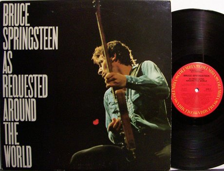 Springsteen, Bruce - As Requested Around The World - Promo Only - Vinyl LP Record - Rock