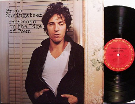 Springsteen, Bruce - Darkness On The Edge Of Town - Vinyl LP Record - Rock