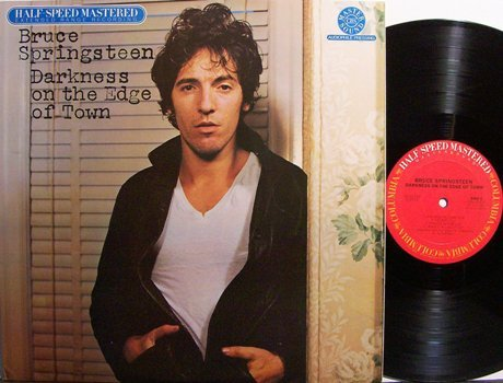 Springsteen, Bruce - Darkness On The Edge Of Town - Half Speed Master - Vinyl LP Record - Rock