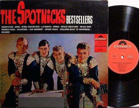 Spotnicks, The - Bestsellers - German Pressing - Vinyl LP Record - Rock