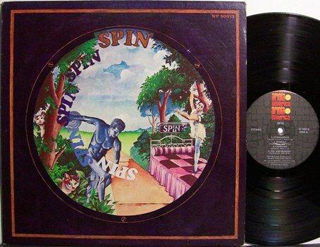 Spin - Self Titled - Vinyl LP Record - Rock