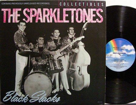 Sparkletones, The - Black Slacks - Vinyl LP Record - Rock
