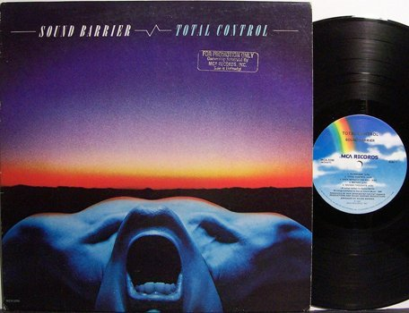 Sound Barrier - Total Control - Vinyl LP Record - Rock