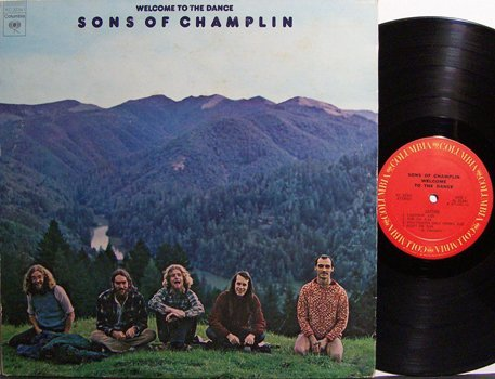 Sons Of Champlin - Self Titled - Vinyl LP Record - Rock